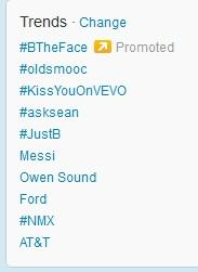 #oldsmooc trended on Twitter, January 7, 2013
